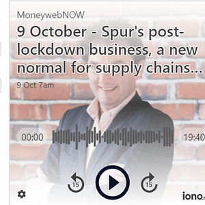 MoneywebNow Podcast Thumbnail